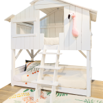 Treehouse Bunk Bed Pine + MDF