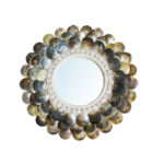 The Coin Mirror – Natural Brown – M