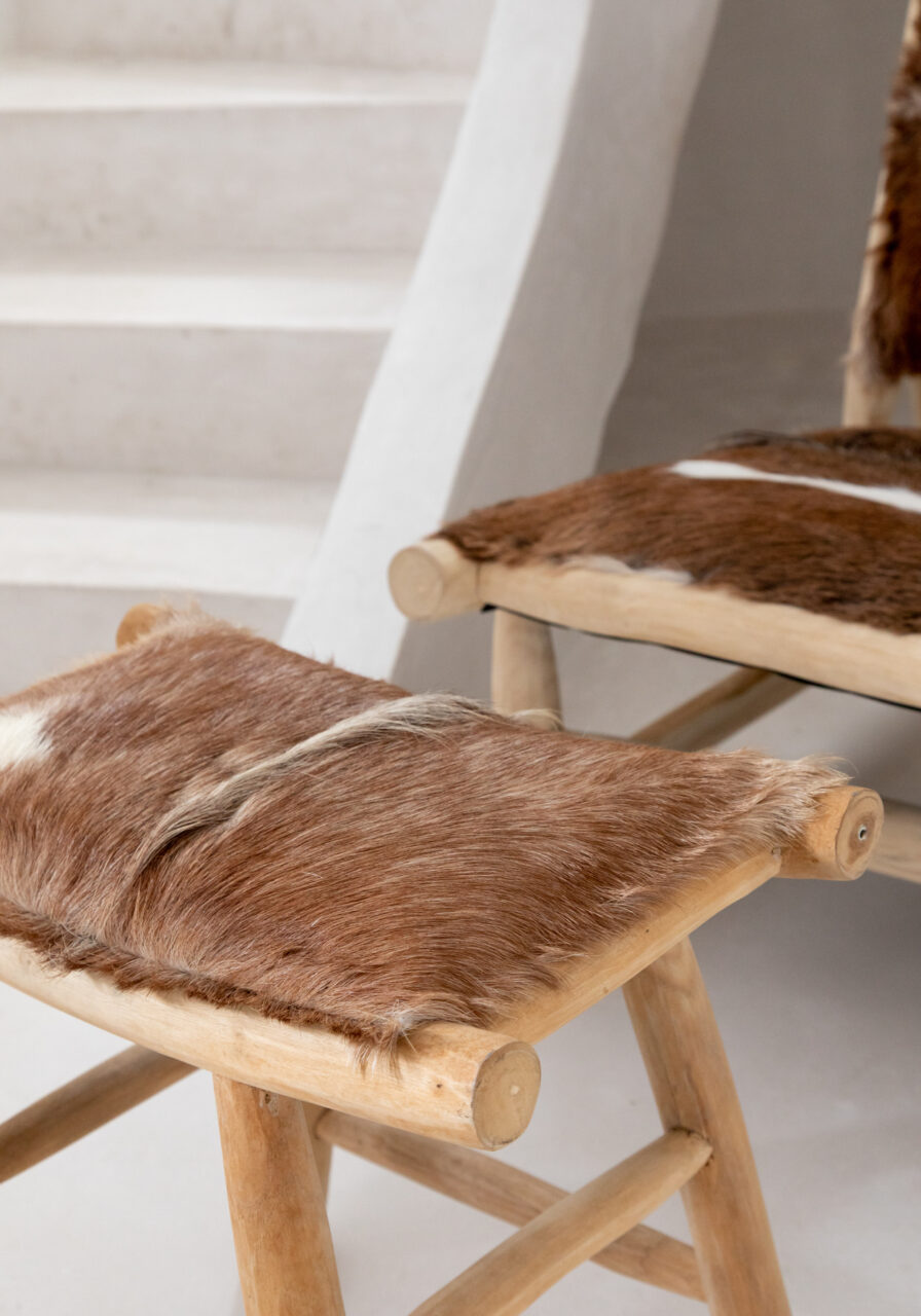 The Island Comfy Chair – Natural Brown