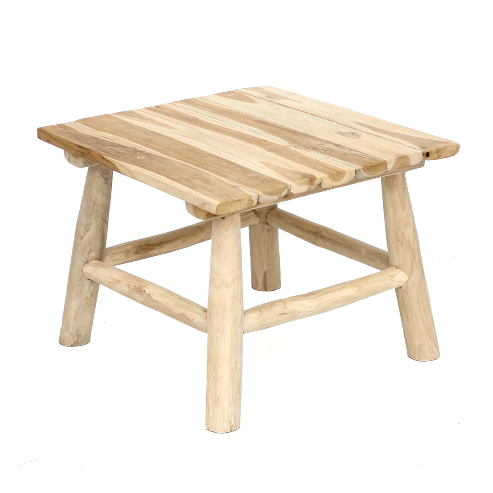 The Island Side Table – Natural